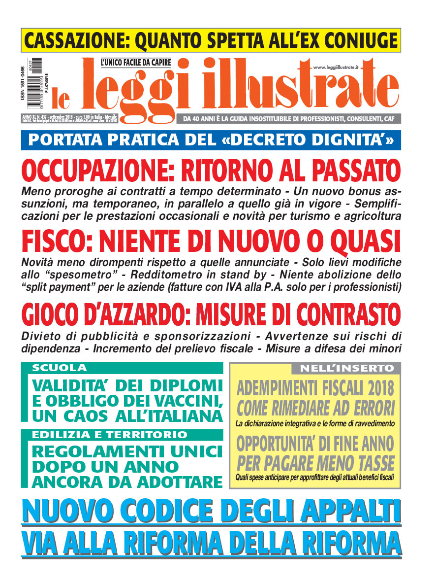 Leggi Illustrate N. 437